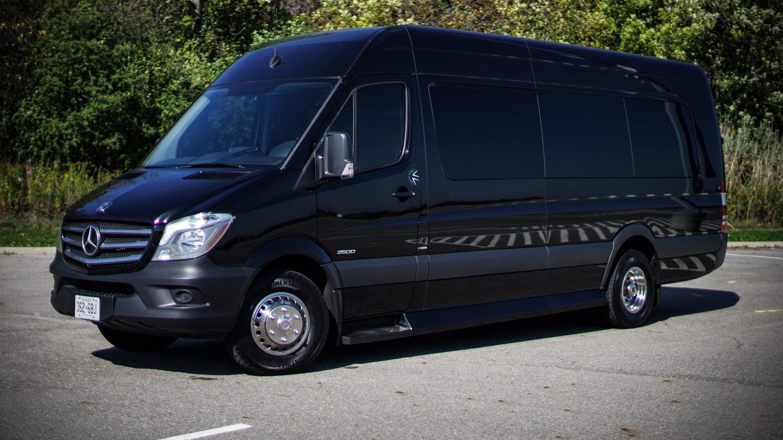 limousine fleet rental benz van sprinter empire mercedes transportation